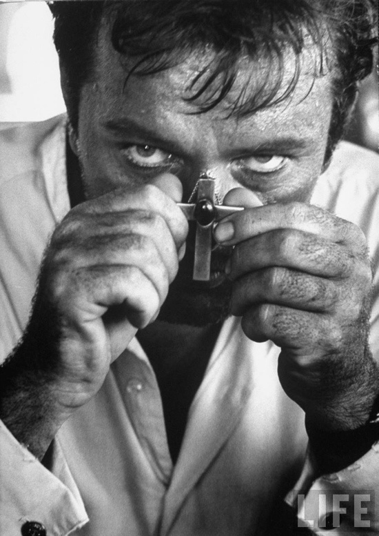 Richard Burton from the movie, 'The Night of the Iguana'. Photographed in Mexico 1963 by Gjon Mili. S)