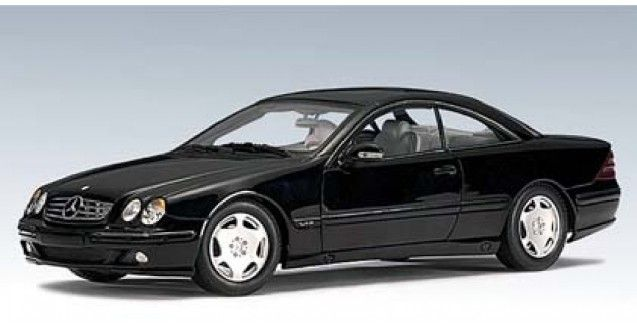 Mercedes CL 600 Black AUTOart 70112