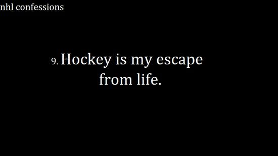 In more than one way. Ice hockey takes me to a different place of excitement and being a die hard fan. More