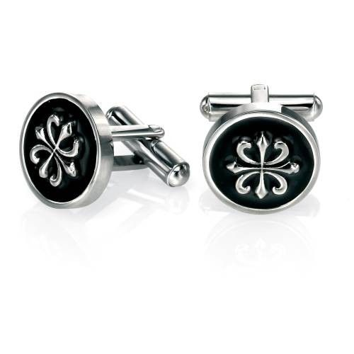 Fred Bennett Round Steel Cufflinks #Jewellery