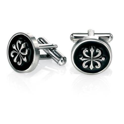 Fred Bennett Round Steel Cufflinks #Jewellery