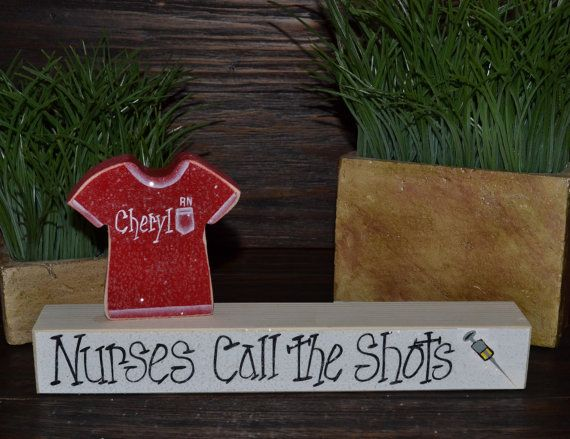 Personalized Nurse Gift Block Set-Personalized Wood Block Love Set, Nursing Graduate, RN Gift, Doctor Gift, School Nurse,Graduation Gift on Etsy, $8.99