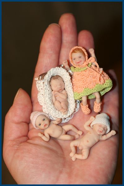 Dollhouse babies-@ Tina Roberts:these are the CREEPIEST yet!