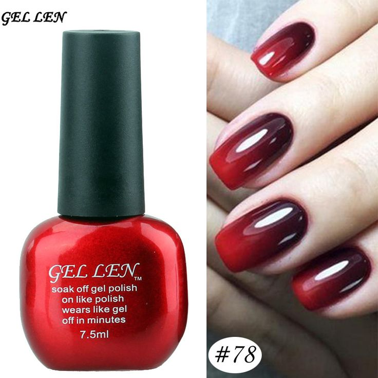 Gel Len Nail Polish UV Nail Gel Polish Long lasting Soak off Gel Varnish Temperature Color Changing Nail Gel Lacquer