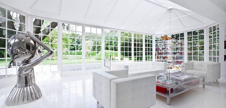Villa Naarden The Netherlands | Design Jan des Bouvrie | #architecture #villa #design #interior #interiordesign #ontwerp