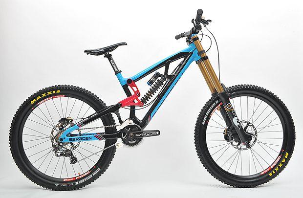 Downhill Bike Saracen Myst (2013)