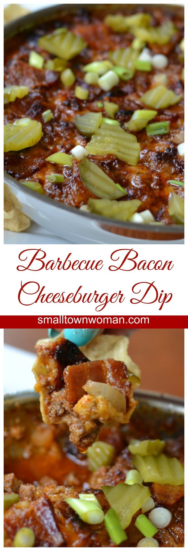 This Barbecue Bacon Cheeseburger Dip is so good it should come with an intervention program.