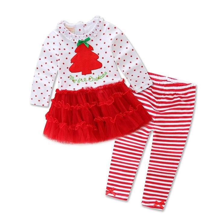 Find More Clothing Sets Information about Xmas Dress Set for Children Girls Long Sleeve Cotton Christmas Tree T shirt + Striped Pants Suit Children Girls Christmas Set,High Quality dress turkey,China set life Suppliers, Cheap set dice from Fashion Kids Wear on Aliexpress.com