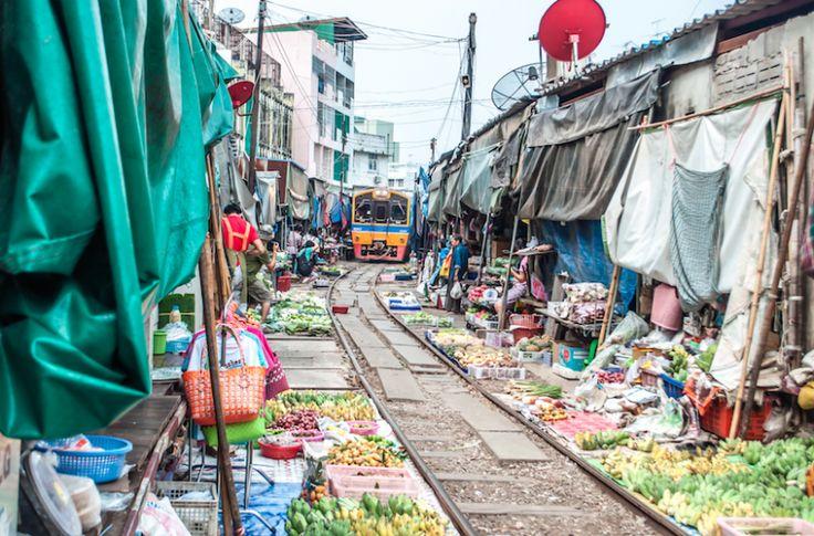 Train Market, Amphawa Floating & Foreflies