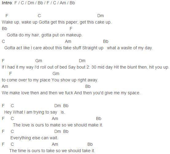 Bed Bed Peace Lyrics