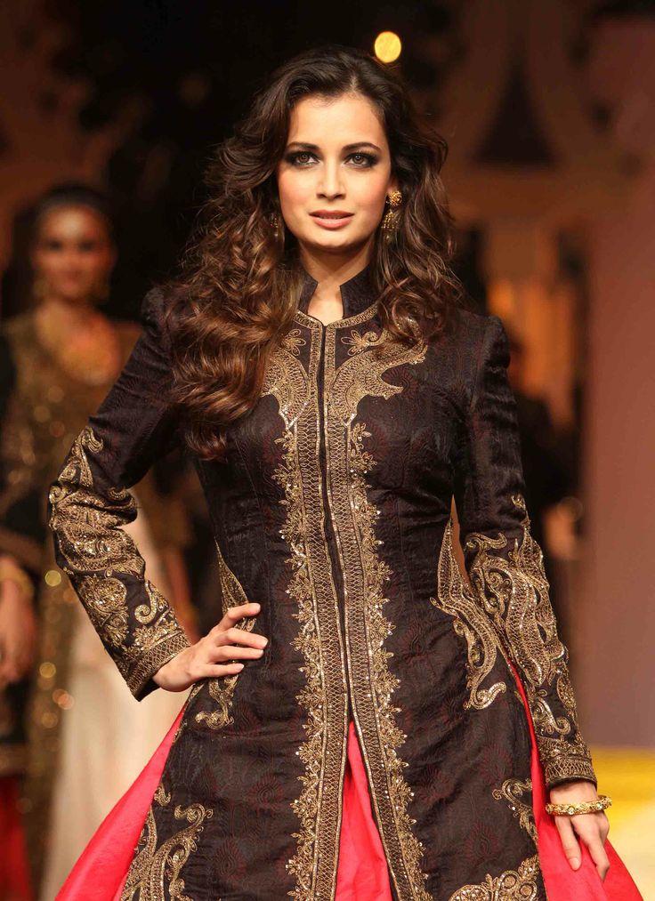 The #Azva #BeautifulBride Diya Mirza  #AzvaAtIBFW #Mumbai #Jewellery