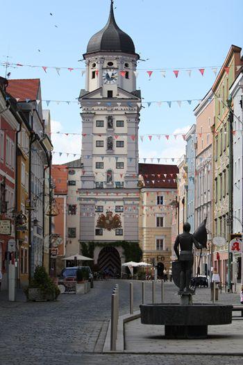 Stadtturm von Vilshofen, Germany