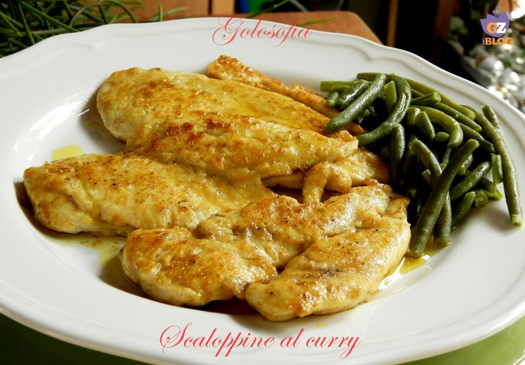 Scaloppine al curry, ricetta veloce gustosissima