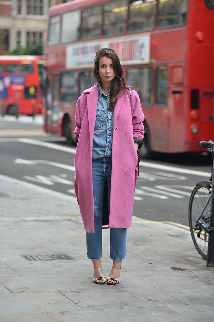 Best 25  Long pink coat ideas on Pinterest | Grey hat, Leopard ...
