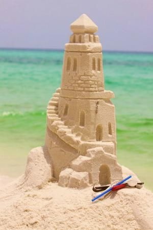 Sandcastle Lessons with www.BeachSandSculptures.com