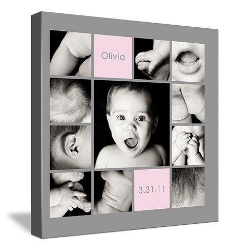 "10""x10"" Photo Collage Design (print-ready flattened JPEG). $175.00, via Etsy."