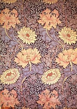 Wallpaper Design Morris, William(1834-1896 British) Victoria & Albert Museum, London, England