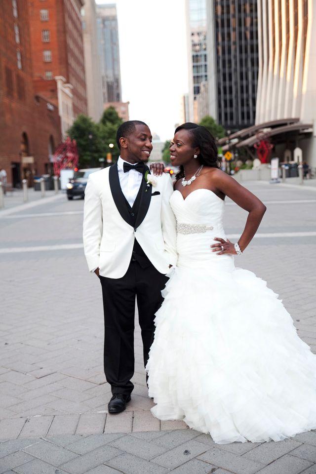 Elegant Haitian Wedding in Raleigh, NC: Sherline + Renaud