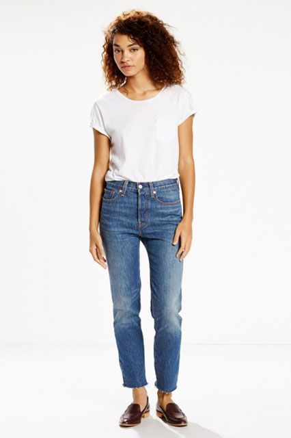 These Are The 10 Most Popular Brands For New York Women #refinery29  http://www.refinery29.com/2016/11/129129/nyc-most-popular-clothing-brands#slide-1  10. Levi'sThis all-American denim staple is best known for perfectly comfortable jeans (especially the ones you can find while thrifting). Levi's Wedgie Fit Jeans, $89.50, available at Levi's....