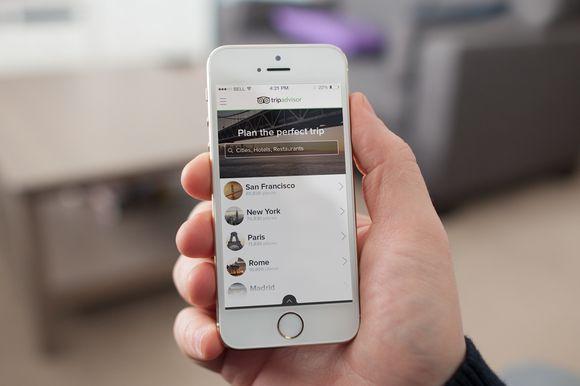 Trip Advisor iOS App Redesign by The Major on Creative Market