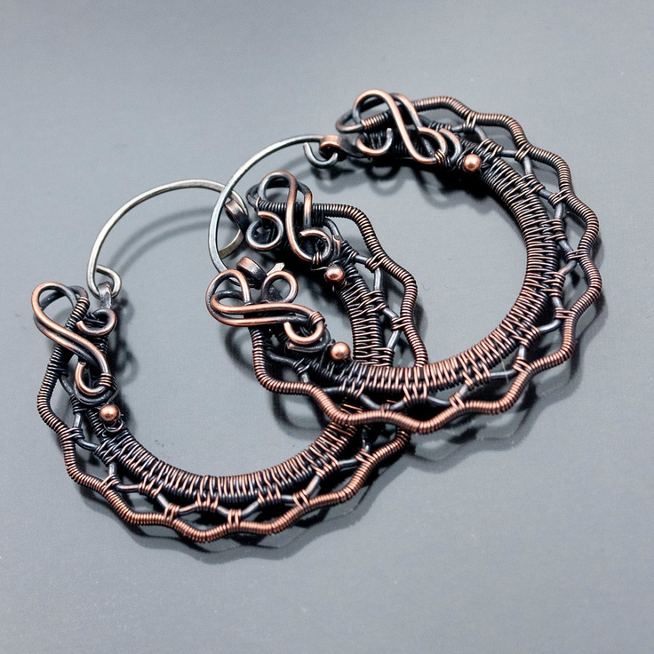 15 best Wire Wrapped Jewellery images on Pinterest | Wire jewelry ...