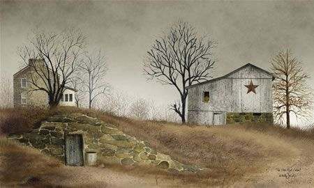 The Old Root Cellar by Billy Jacobs 10x6 in. Art Print