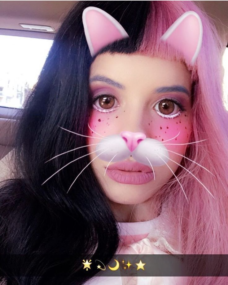 Cake Cry Baby Snapchat Filter