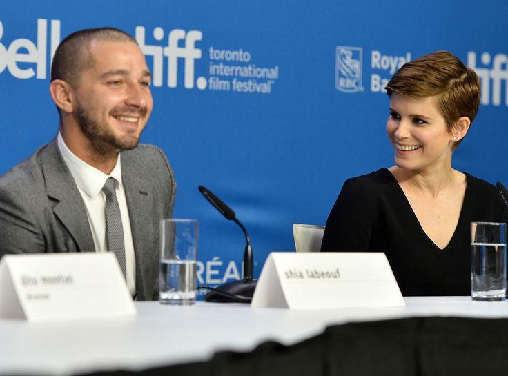 Shia LaBeouf & Kate Mara from 2015 Toronto Film Festival: Star Sightings   E! Online