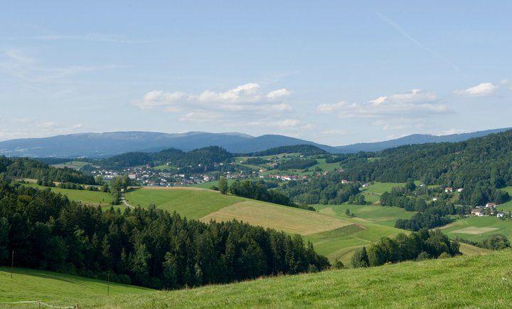Urlaub mit Hund, Katze, Pferd & Co... Die mächtigen Waldrücken des Böhmerwaldes im Norden, die sanfte Hügellandschaft des Mühlviertels, sagenumwobene Granitformationen und Steinlandschaften vereinen sich in der Ferienregion Böhmerwald zu einem harmonischen Ganzen. Die Ferienregion Böhmerwald erstreckt sich im Dreiländereck Ober�…