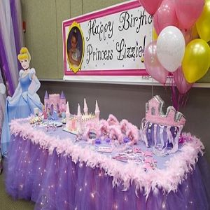 outdoor girls party decorating ideas   Idea For Little Princess Birthday Party   Bash Corner