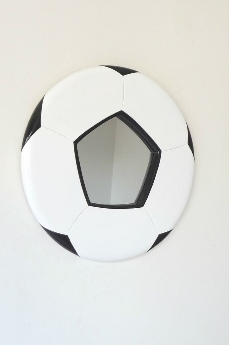 A very unique football mirror from Funky Mirrors of Etsy..!