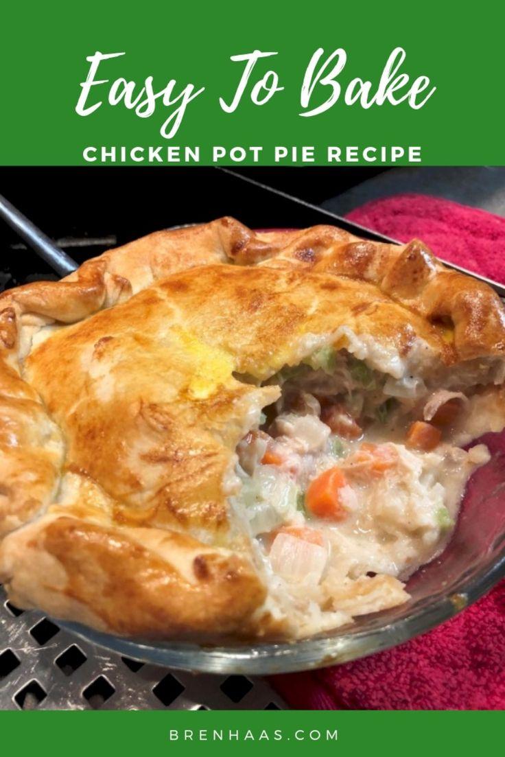 The Best Chicken Pot Pie Prepared in Air Fryer Oven Recipe