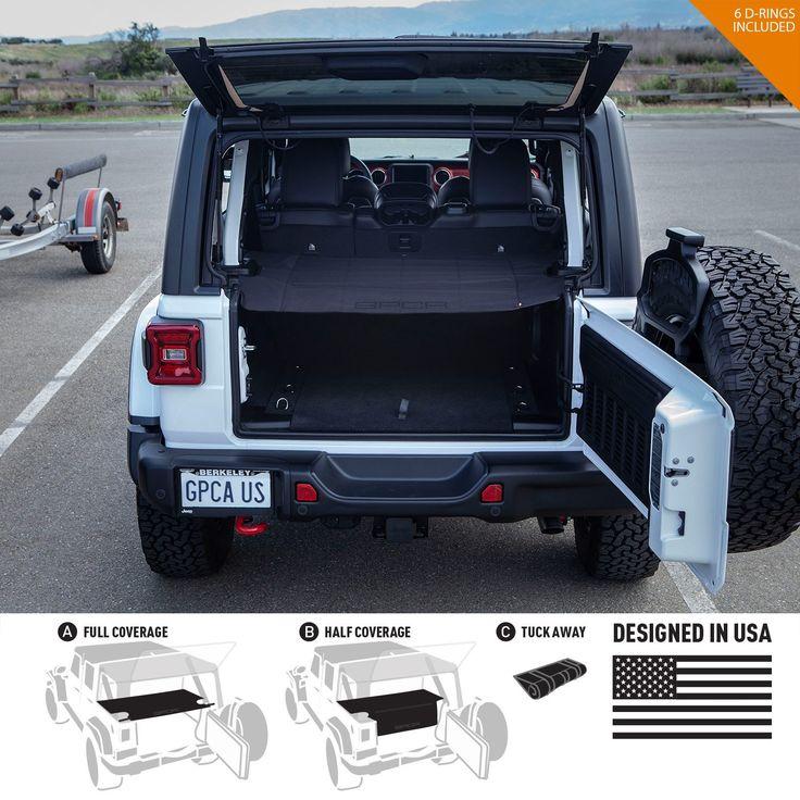 GPCA Cargo Cover LITE for Jeep Wrangler JL 4DR Sports