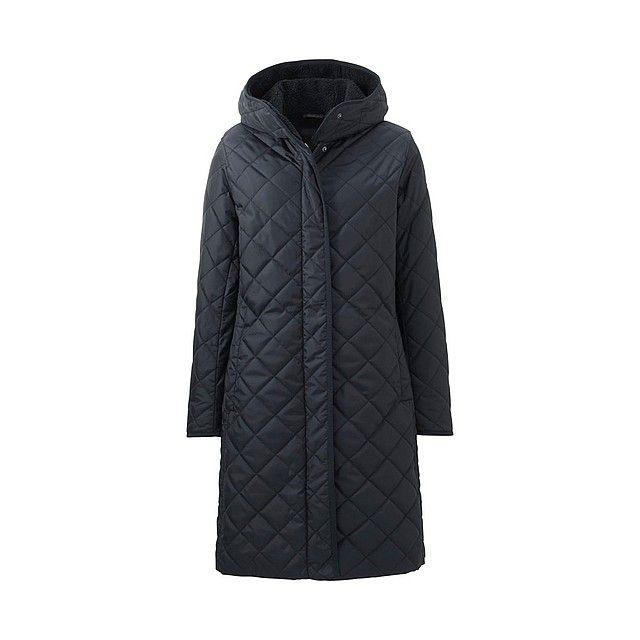 WOMEN Fleece Lined Warm Padded Hooded Coat-UNIQLOUKOnlinefashionstore £90