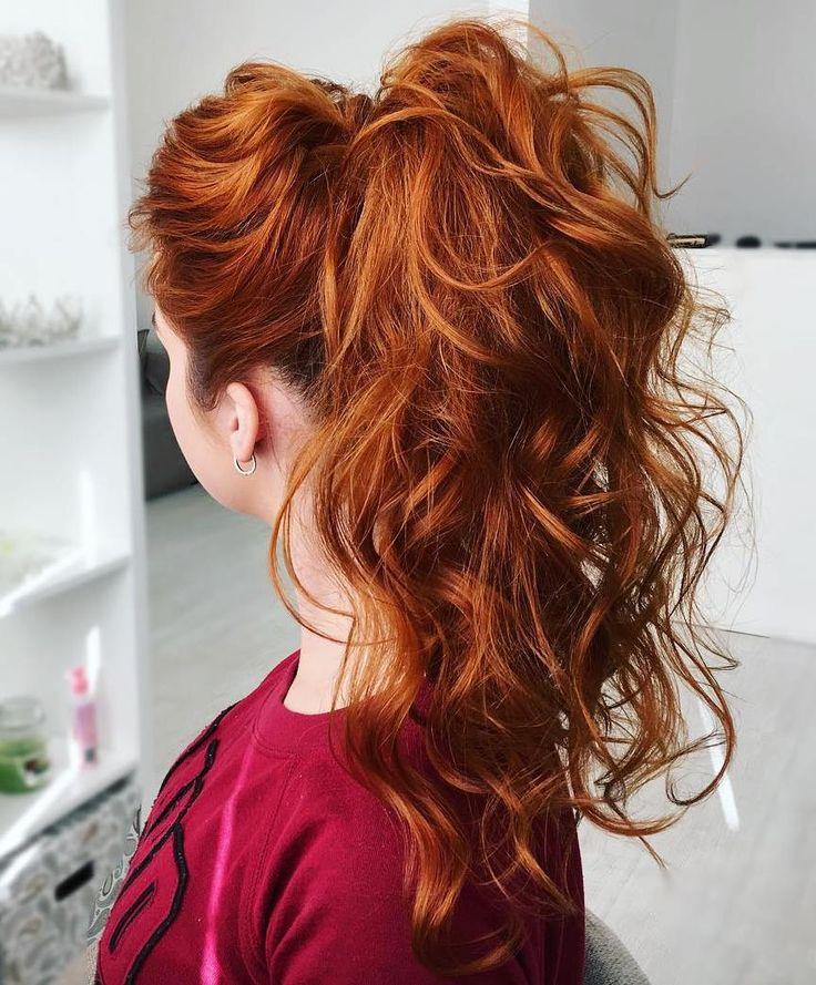 Best 25+ Curly Ponytail Ideas On Pinterest