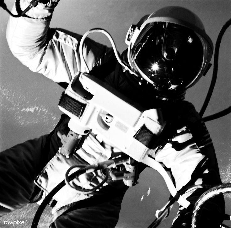 Astronaut Edward H. White II, pilot on the Gemini-Titan IV ...