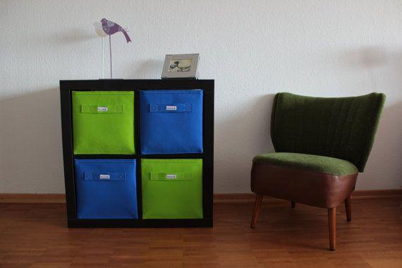 Regalkorb aus Filz in 4 neuen Farben Passend z.B. für Ikea