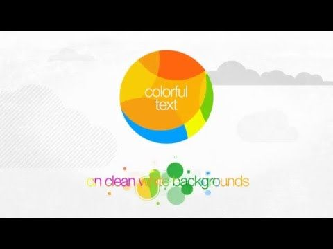 After Effects Sunshine Titles Template - AeVideoTemplates.com