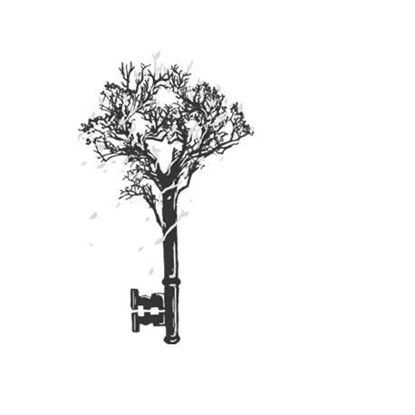 tree of life, skeleton key tattoo?