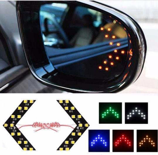 #sidemirror #led #turnsignal #arrow #light #Car Guide #indicator view #kit glass repeater – ZAZA 49