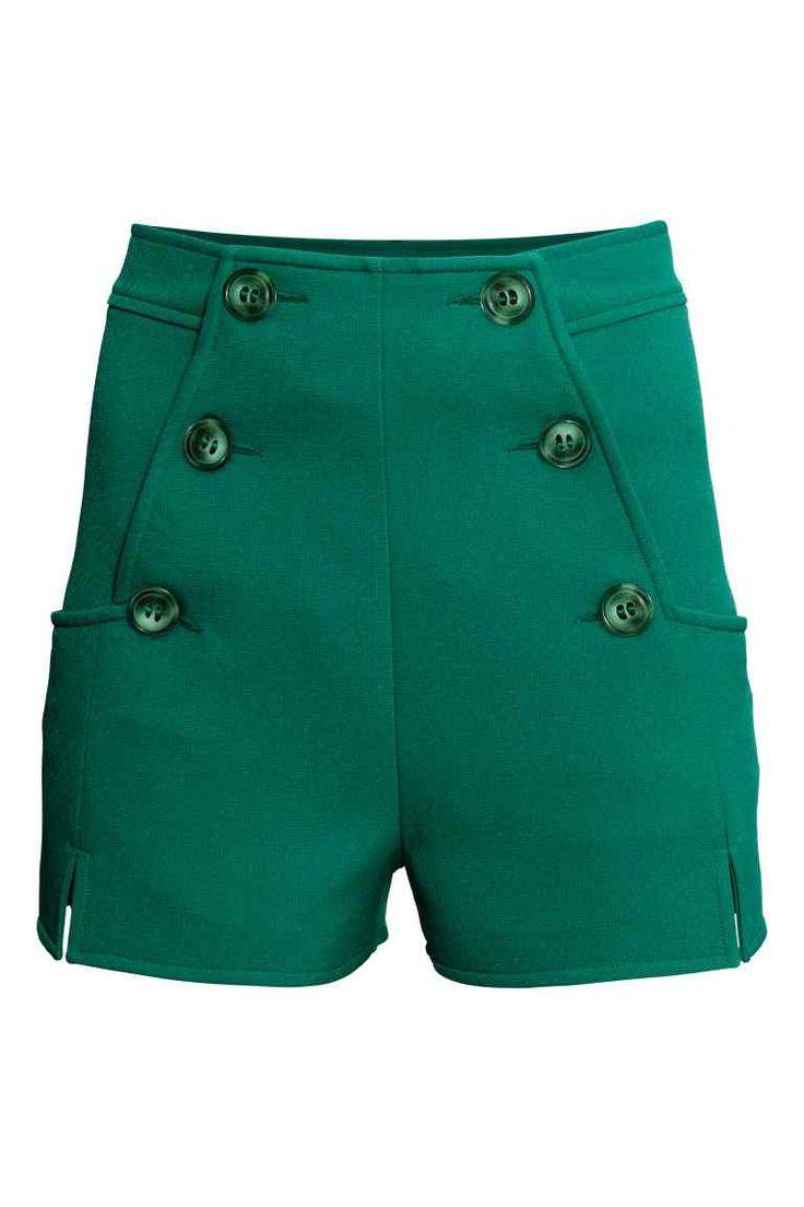 Pantalón corto de talle alto | H&M