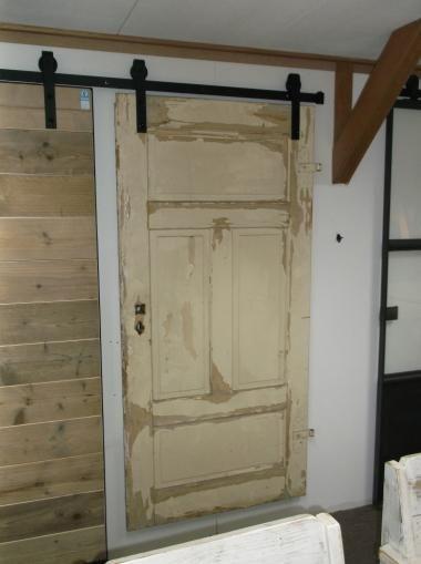 Sloophouten schuifdeur vintage schuifdeuren loftdeuren pinterest sloophout schuifdeuren - Haard thuis wereld ...