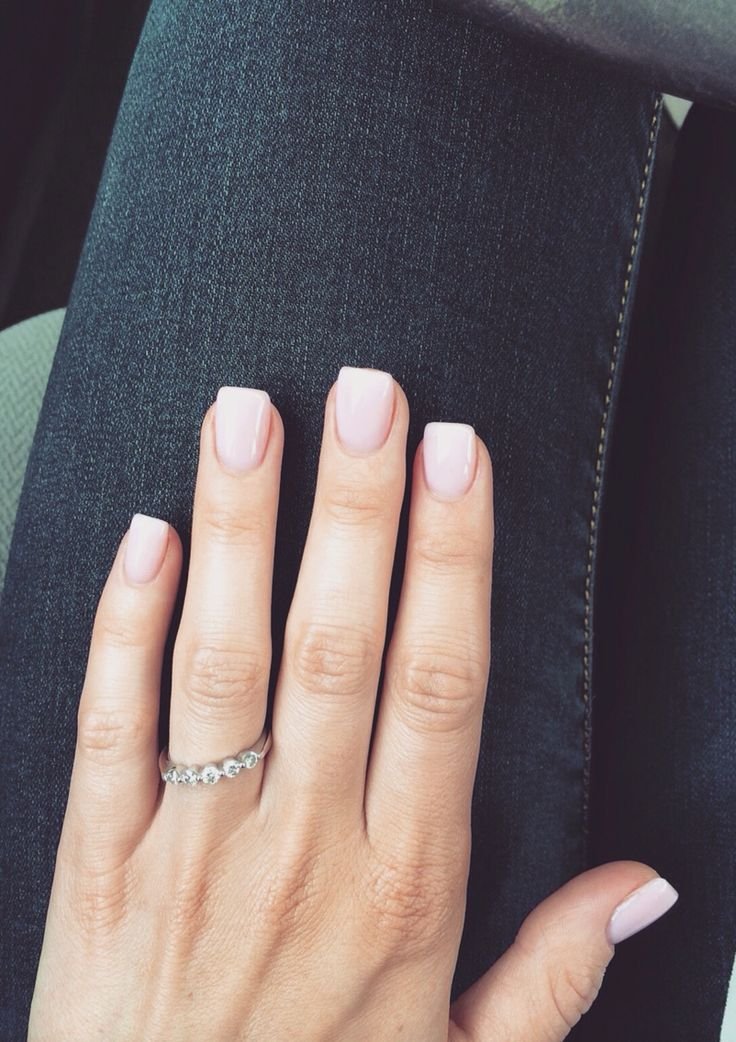 Love the square nails.