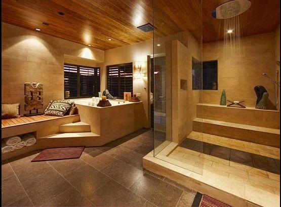 Bathroom Design Las Vegas the ridges las vegas zen house, peter lik, zen bathroom/steam
