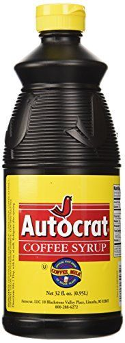 Autocrat Coffee Syrup is the secret ingredient used to create the sweet and delicious concoction known as coffee milk. As the