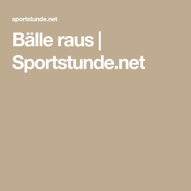 Sportstunde Spiele