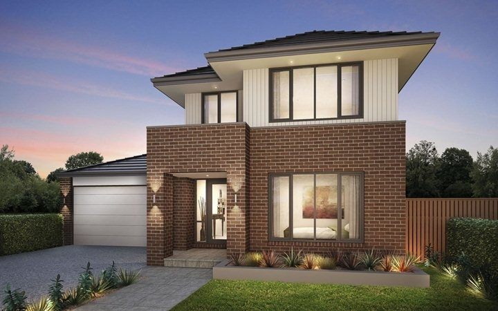 Metricon Home Designs The Vaucluse Traditional Facade
