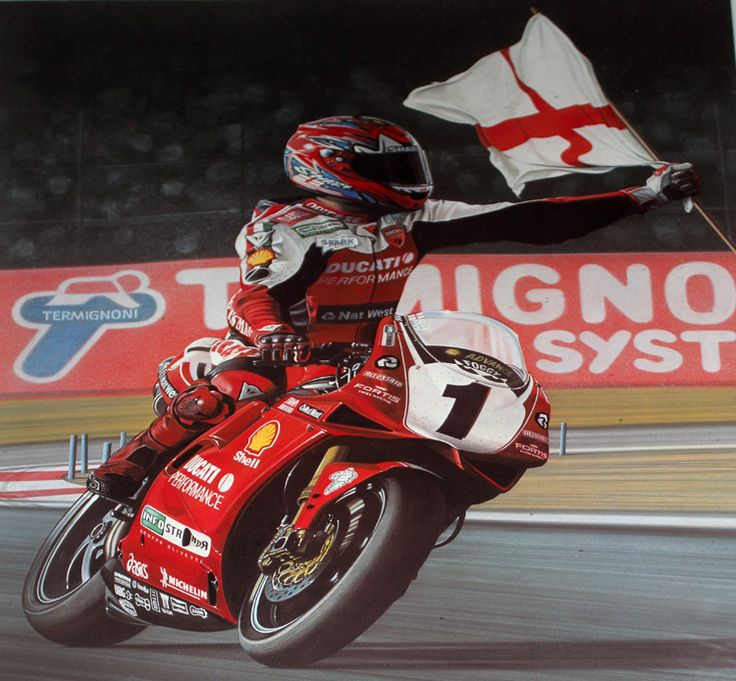 """CARL FOGARTY Signed """"South African Gold"""" limited edition"""