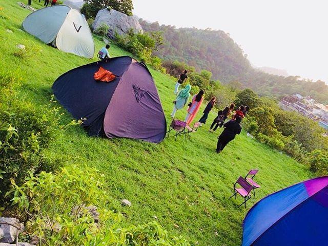 Exclusive Camping Arrangements Inside Margalla Hills Near La