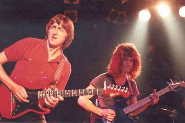 Allan Holdsworth and Eddie Van Halen